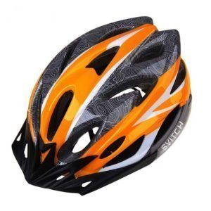 Svitch Helmet for e-bike orange colour